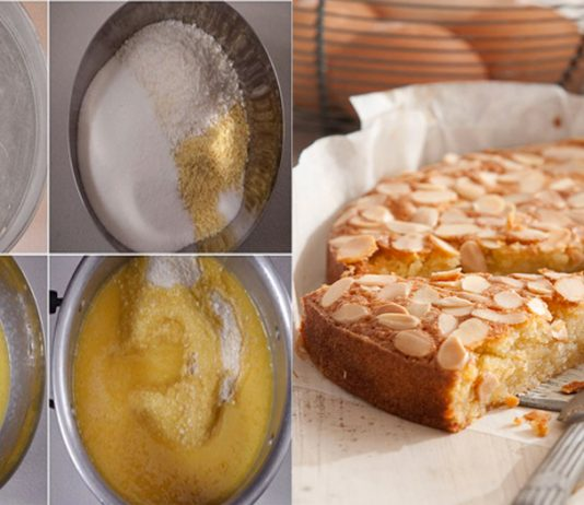 An easy Recipe to make Almond & Coconut Cake at Home