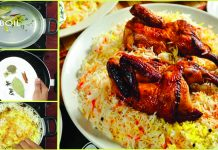 Delicious Afghani Pulao Chicken Sajji Recipe With Brown Rice