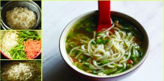 How To Make Simple Vegetable Noodles Soup Recipe