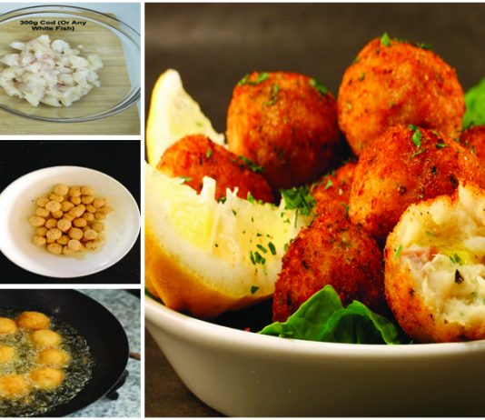 How to Make Spicy & Crunchy Fish Balls with simple recipe