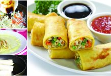 How to Make easy & Crispy Vegetable Spring Roll at Home