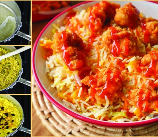 How to make Delicious Arabian Rice Recipe at Home