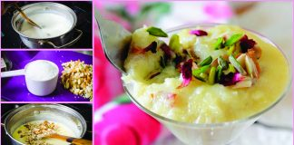 How to make Delicious Kashmiri Phirni Pakistani Dessert