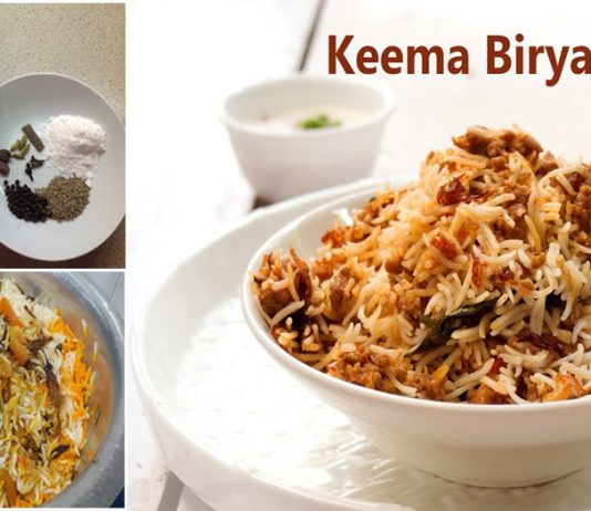 How to make Mouth Watering Keema Biryani Recipe at Home