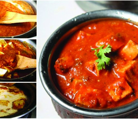 How to make Mouth Watering Paneer Butter Masala at Home