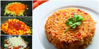 Recipe to Make Mexican Veg Fried Rice recipe at Home