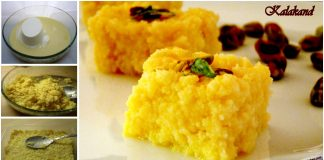 An Easy Recipe to Make Instant Delicious Kalakand Recipe with Milk
