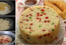 An Easy Recipe to make Healthy Eggless Sooji Cake Recipe For Kids