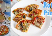An Easy Recipe to make Tasty Roti Pizza Recipe at Home
