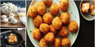 Deep Fried Mashed Potato Balls with Bread Crumbs