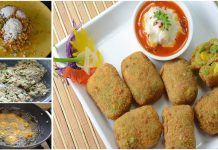 How to Make Mix Fried Vegetable Balls Recipe at Home