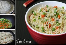 How to make Easy and Healthy Vegetable Fried Rice Recipe