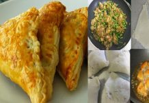 Crispy Bread Samosa at home with easy recipe
