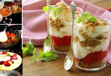 Easy Fruit Trifle Recipe for Iftar party at home