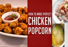 How to make KFC Style Chicken Popcorn with simple recipe