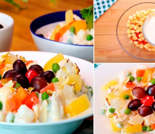 Simple & Quick Yummy Russian Salad Recipe for iftar